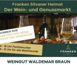6.11.2019 Wein & Genussmarkt FRANKEN 2019